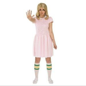 Stranger Things Eleven Costume Cosplay Womens S